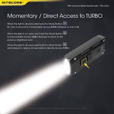 【Practical】<b>NITECORE TIP SE dual-core</b> metallic keychain light ...