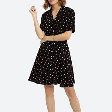 <b>Платье La Redoute</b> На пуговицах <b>короткое</b> с принтом 44 (FR) - 50 ...