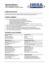 career objective resume engineer cipanewsletter a good career objective cars mmogspot