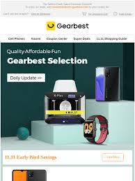 Gearbest New Latam: [1 Point Win Free Xiaomi 10T] 11.11 ...