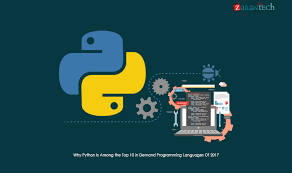 programming languages linkedin python the top 10 programming languages of the year 2017