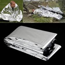 <b>1pc Emergency Survival</b> Rescue Foil Blanket Thermal <b>Outdoor</b> ...