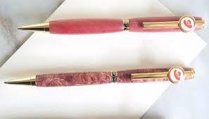 Slim handmade ballpoint pen