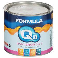 <b>Грунт</b>-<b>эмаль</b> Formula Q8 красная по ржавчине, 1.9 кг в Белгороде ...