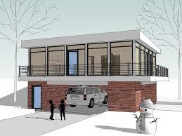 Carriage House Plans   Unique Modern Carriage House Design   G    Unique Garage Plan  G