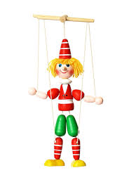 Марионетка Буратино (<b>игрушка ручной работы</b>) КЛИМО ...