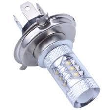 12V H4 80W 6000K Super Bright LED White Light Fog lights ... - Vova