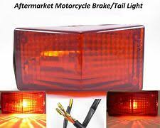 electric motorcycle brake light led strobe bulb modified decoration s colorful warning 12v rear tail