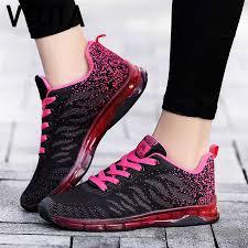 VTOTA Platform Pink <b>Sneakers</b> Basket Femme <b>Sneakers Womens</b> ...