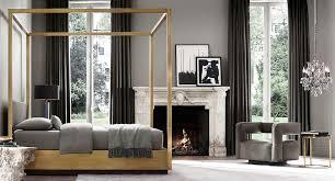 view in gallery brass bed from rh modern brass furniture