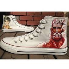 <b>Attack On Titan Shoes</b> Christmas Anime Attack On Titan High-top P ...