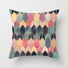 <b>Colorful Geometry Pattern Cushion</b> Covers Home Decorative ...