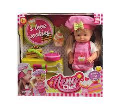 <b>Кукла NENA</b>, тм <b>Dimian</b>, <b>шеф</b>-<b>повар</b>, 36 см (tn-BD387) - Купить по ...
