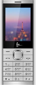 Мобильный <b>телефон F+</b> B240 серебристый — купить в интернет ...