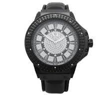 super techno watch mens super techno black gold diamond watch by joe rodeo m 6143 jojino jo jo