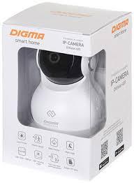 IP камера <b>Digma DiVision 400 белый</b>/черный купить в интернет ...