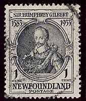 「Sir Humphrey Gilbert, landed saint johns  newfound land canada」の画像検索結果