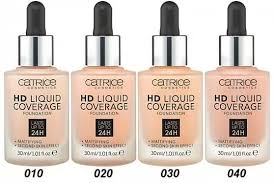 Catrice <b>Основа тональная HD</b> Liquid Coverage Foundation (10 ...