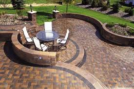stone patio design ideas patterns