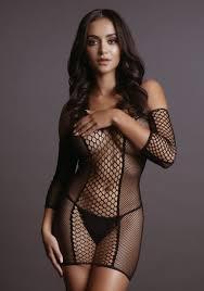 Купить Соблазнительное <b>мини</b>-<b>платье</b> Duo Net Sleeved Mini ...
