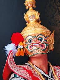 Image result for ยักษ์ในรามเกียรติ์ หน้าสีชมพู