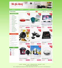 Kết quả hình ảnh cho thiết kế website bán đồ gia dụng