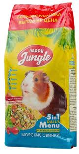 Корм для морских свинок <b>Happy Jungle</b> 5 in 1 Daily Menu ...