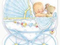 amscan тарелка первый день рождения мальчик 17 см 8 шт