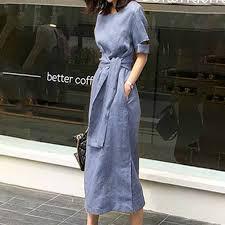 Summer Office Ladies Elegant Vintage <b>Japan Style</b> Women Midi ...