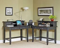 m stunning computer desk for home ikea with black wooden computer desk l shaped be equipped 4 sliding drawer under the desk and storage shelves above the amazing office desk black 4