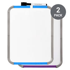 "<b>Deli</b> Magnetic <b>Dry Erase Whiteboard</b>, 8 1/2"" x 11"", 2 Pack, Blue ..."