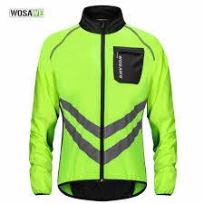<b>WOSAWE Cycling Jacket</b> High Visibility MultiFunction Jersey Road ...