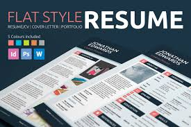 professional resume templates to help you land that new job 2 flat style resume