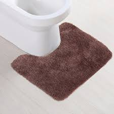 bathroom toilet mat high quality latex rugs