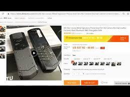VERTU K8+ <b>Luxury Metal</b> Signature <b>Phone</b> - YouTube