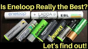 Which Rechargeable <b>Battery</b> is the Best? Let's find out! - YouTube
