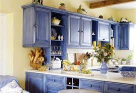 kitchen cabinet colors cool  kitchen cabinets country style blue color cool painting kitchen cabin