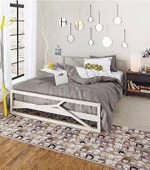 bedroom large size captivating breakfast stools on grey bed sheet white bed and cartoon carpet captivating cool teenage rooms guys