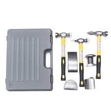 <b>7pcs car</b> body repair hammers dolly kit <b>auto</b> panel beating dent ding ...