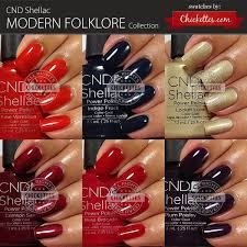 <b>CND Shellac Modern Folklore</b> Collection Swatches | Nagels, Nagel ...