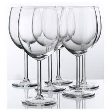 Купить СВАЛЬК <b>Бокал для вина</b>, прозрачное стекло по выгодной ...