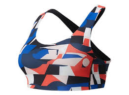 Women's <b>NB Fuel</b> Printed <b>Bra</b> - <b>New Balance</b>