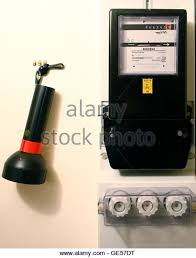 fuse box household stock photos fuse box household stock images a flashlight hangs on a hook next to an electricity meter and fuse box in a