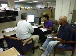 pimco employees volunteer the partnership for the homeless homeless to mentor seniors in our workforce development senior employment program they worked on resume development interview and job search skills