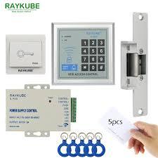 RAYKUBE <b>Access Control</b> Kit Electric Strike <b>Lock</b> + <b>Access Control</b> ...