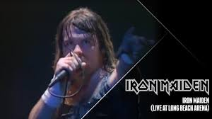 Iron Maiden - <b>Iron Maiden</b> (<b>Live</b> at Long Beach Arena) - YouTube