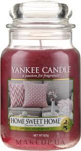 "Yankee Candle <b>Home Sweet</b> Home - <b>Ароматическая свеча</b> ""Дом ..."