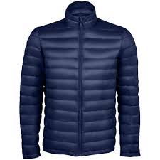 <b>Куртка мужская Wilson Men</b>, темно-синяя под нанесение ...