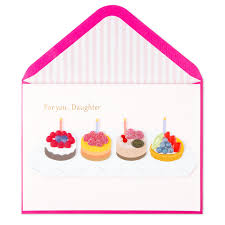 Sweetest Day Birthday Card (For Daughter)