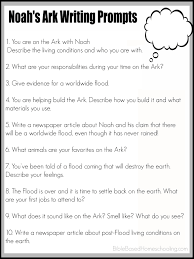timed essay prompts printable noah s ark writing prompts